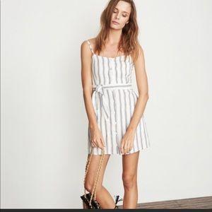 FAITHFULL THE  BRAND Mini striped Dress sz 4